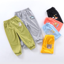 trousers Other / other neutral summer Ninth pants leisure time No model Casual pants Leather belt middle-waisted other Open crotch Class A 3 months, 12 months, 6 months, 9 months, 18 months, 2 years old, 3 years old, 4 years old, 5 years old, 6 years old