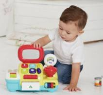 Other toys for early education Blue and yellow, lack of accessories