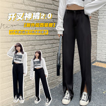 Casual pants The recommended height is 170cm or more for the long, 160cm or more for the medium, and 150cm or more for the short XL - recommended 130-150 kg, 2XL - recommended 150-170 kg, 3XL - recommended 170-190 kg, 4XL - recommended 190-240 kg Spring 2021 Ninth pants Haren pants High waist routine