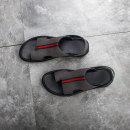 Sandals 37,38,39,40,41,42,43,44 Other / other Sleeve Double skin (except cattle suede) Beach shoes summer daily leisure time Pinch toe rubber ventilation Flat heel Solid color Youth (18-40 years old) Adhesive shoes without wearing make-up Daily leisure PU Wax skin