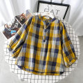 shirt Red, brown, yellow Large L [recommended 90-115 kg], large XL [recommended 120-140 kg], large 2XL [recommended 145-165 kg], large 3XL [recommended 165-185 kg], large 4XL [recommended 185-210 kg] Spring 2020 cotton 91% (inclusive) - 95% (inclusive) three quarter sleeve commute Regular V-neck