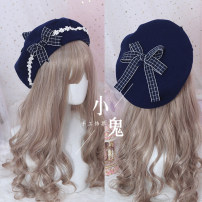 Hat Wool M(56-58cm) beret Autumn, winter Sweet and lovely other No eaves bow Shopping Other / other