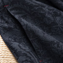 skirt Spring 2021 S-6,M-8,L-10,XL-12 Tibetan. 15 days, yd0-0-0 Mid length dress commute High waist Flower bud skirt Type O 51% (inclusive) - 70% (inclusive) other Spring home hemp Simplicity