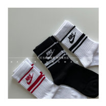 Children's socks (0-16 years old) Medium socks 3 pairs and 1 group S(15-18cm),M(18-21cm),L(21-23cm) Other / other spring and autumn neutral Cotton 80% other 20% M Chinese style