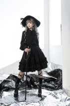 skirt Winter 2020 S, M Half skirt (with waist chain) longuette commute High waist Pleated skirt Solid color Type A princesschronicles polyester fiber
