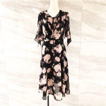 Dress Spring 2021 black M / 160 = 9, L / 165 = 11, XL / 170 = 13, XXL / 175 = 15 TC-21A061