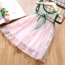Dress Pink, black, beige female Other / other 100 = 7, 110 = 9, 120 = 11, 130 = 13, 140 = 15 Polyamide fiber (nylon) 100% summer princess Skirt / vest Broken flowers other Splicing style Class B 2 years old, 3 years old, 4 years old, 5 years old, 6 years old, 7 years old, 8 years old Chinese Mainland