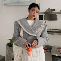 woolen coat Winter 2020 Average size Gray, black polyester fiber 51% (inclusive) - 70% (inclusive) have cash less than that is registered in the accounts Long sleeves Sweet other routine other Solid color Straight cylinder G20201221-0172-lagirl-울세라JK-36461 Other / other Ruili