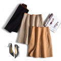 skirt Winter of 2019 S,M,L Camel, black, beige Middle-skirt commute Natural waist other Solid color 25-29 years old Q21087 71% (inclusive) - 80% (inclusive) Muyao wool