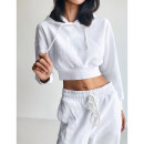 Casual suit Spring 2021 White, light grey, black S,M,L 18-25 years old 51% (inclusive) - 70% (inclusive) cotton