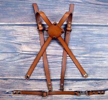 Belt / belt / chain Double skin leather Round leather cross, diamond Leather Cross, leather neck, Y-shaped herringbone leather, Pu neck, Pu cross, cut leather neck, leather + ribbon male cowboy Double button alloy