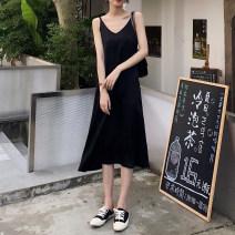 Dress Summer of 2019 Black, blue, beige S. M, l, average size