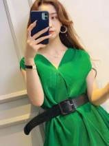 Dress Spring 2021 green Average size