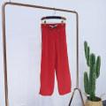 Casual pants RED-1, black-2, purple-3 XS,S,M,L,XL Autumn of 2019 Caipei