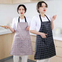 apron Sleeveless apron waterproof Simplicity At home public no like a breath of fresh air