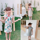 cheongsam 90,100,110,120,130 Broken flowers, leaves, red and yellow flowers Other 100% Other / other There are models in the real shooting summer Broken flowers Cotton blended fabric Class B 7 years old, 8 years old, 3 years old, 6 years old, 18 months old, 2 years old, 5 years old, 4 years old