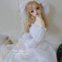 BJD doll zone Dress 1/3 Over 3 years old Customized white 1/6,1/4,1/3