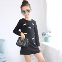 Dress female Other / other Cotton 90% polyurethane elastic fiber (spandex) 10% 3 months