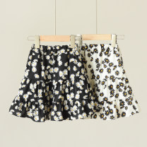 skirt 100 is suitable for height about 100cm, 110 is suitable for height about 110cm, 120 is suitable for height about 115cm, 130 is suitable for height about 120cm, 140 is suitable for height about 130cm Black 109 Daisy skirt, white 109 Daisy skirt Other / other female Polyester 100% summer skirt