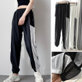 trousers female Other / other S,M,L,XL 3105 white and black mesh sports pants, 3105 black and white mesh sports pants Spring 2021 Tightness Sports & Leisure easy Women's outdoor polyester fiber Quick drying, ultra light, breathable, reflective night vision Others middle-waisted
