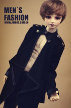 BJD doll zone loose coat 1/3 Over 14 years old goods in stock Sd13 men's size, 70cm, sd17 men's size Coat, coat, black pants, brown pants, coat + black pants, coat + brown pants AMORS WORLD 1/3