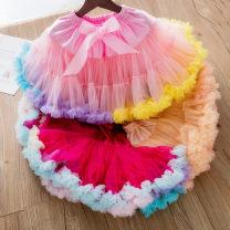 skirt XS (60-80cm), s (80-100cm), m (110-120cm), l (130-140cm), XL (150-160cm) Modern Princess female Polyamide fiber (nylon) 60% cotton 40% No season skirt princess Solid color Cake skirt cotton Class B