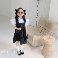 suit Other / other 2-piece set, about 4.25 female summer Korean version Short sleeve + skirt 2 pieces routine There are models in the real shooting Single breasted nothing Solid color children birthday Three, four, five, six, seven, eight, nine, ten, eleven, twelve