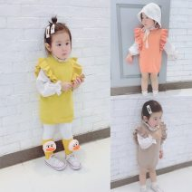 Dress female Other / other 73cm,80cm,90cm,100cm Cotton 100% spring and autumn lady Skirt / vest Pure cotton (100% cotton content) other Class A 12 months, 6 months, 9 months, 18 months, 2 years, 3 years, 4 years