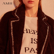 leather and fur Winter 2020 Amii Black, description 170/92A/XL,165/88A/L,155/80A/S,.,160/84A/M routine Long sleeves commute other routine other other Korean version PC2-1202TM0369 25-29 years old pocket