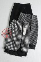 skirt Autumn 2020 Average size 1 ᦇ black and white check, 2 ᦇ black and white thousand bird check, 3 ᦇ black