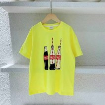 T-shirt Yellow (spot) Three bears Castle Seven, nine, eleven, thirteen, fifteen, seventeen neutral other other Cotton 95% other 5% 2, 3, 4, 5, 6, 7, 8, 9, 10 years old
