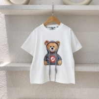 T-shirt White (spot) Three bears Castle Five, seven, nine, eleven, thirteen, fifteen, seventeen, nineteen neutral other other Cotton 95% other 5% 2, 3, 4, 5, 6, 7, 8, 9, 10 years old