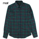 shirt Youth fashion S,M,L,XL green routine square neck Long sleeves Self cultivation daily autumn youth