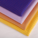 Fabric / fabric / handmade DIY fabric cotton Orange blue bar, half meter, yellow red bar, half meter, color blue red bar, half meter, light purple pink bar, half meter, coffee yellow bar, half meter Loose shear piece stripe Yarn dyed weaving clothing Europe and America