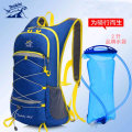 Backpack Land Rover Fruit green purple blue black orange rose red emerald green 2-liter water bag with separate Backpack For men and women H674 General camping / hiking yes polyester fiber Summer 2015 yes Air cushion strap China soft roll