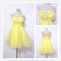 National costume / stage costume Winter of 2018 yellow M D197