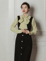 Fashion suit Spring 2021 S,M,L Top + strap skirt