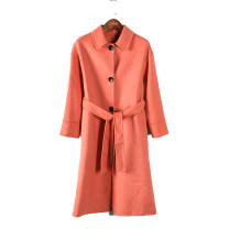 woolen coat Autumn of 2019 M, L Watermelon red wool 95% and above
