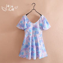Bathing suit Other 100% Other / other female Children's one piece swimsuit Class B Chinese Mainland 8, 9, 10, 11, 12, 13, 14