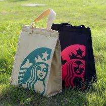 Lunch box bag izu  Vertical Starbucks yellow Starbucks Pink 011