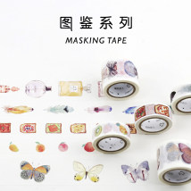 Adhesive tape / tape / tape Yan, fruit, energy, toast, fine, butterflies, I am not a recipe, perfume, rain, butterflies, and jewels. Cardlove / letter lover Stationery tape