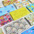 Fabric / fabric / handmade DIY fabric cotton Loose shear piece Cartoon animation printing and dyeing Other hand-made DIY fabrics Chinese style 91% (inclusive) - 100% (exclusive) Chinese Mainland
