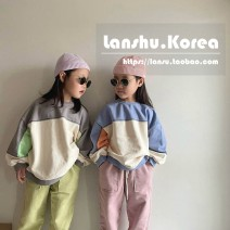 Sweater / sweater Other / other Gray domestic spot does not return and exchange, blue domestic spot does not return and exchange, gray (Korean reservation does not return and exchange), blue (Korean reservation does not return and exchange), Korean synchronous sales, first shot, first served neutral