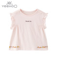 T-shirt YRTCJ21213A01 Yeehoo / English 100cm,90cm,80cm,73cm,66cm female summer Short sleeve Crew neck leisure time No model nothing other Solid color YRTCJ21213A01 Class A hygroscopic and sweat releasing 3 months, 12 months, 18 months, 2 years, 3 years, 6 years Chinese Mainland