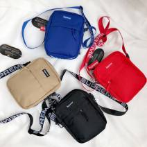Bag Inclined shoulder bag oxford Small square bag Other / other brand new Small Inclined shoulder bag youth Certificate bag