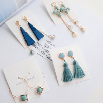 Earrings Mixed materials 30-39.99 yuan Other / other 1 ᦇ mermaid melody 2 ᦇ blue movement 3 ᦇ Waltz 4 ᦇ coral sea 5 ᦇ lonely travel brand new female Japan and South Korea goods in stock Fresh out of the oven Not inlaid