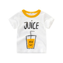 T-shirt 9116m white, 9227m white 27KIDS 90cm,100cm,110cm,120cm,130cm,140cm neutral summer Short sleeve Crew neck leisure time No model nothing cotton Cartoon animation Class A other 18 months, 2 years old, 3 years old, 4 years old, 5 years old, 6 years old, 7 years old, 8 years old, 9 years old