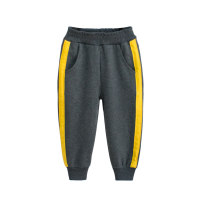 trousers 27KIDS neutral 90cm,100cm,110cm,120cm,130cm,140cm spring and autumn trousers No model Sports pants Leather belt middle-waisted Cotton blended fabric Don't open the crotch Class A