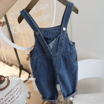 trousers Other / other neutral 80cm,90cm,100cm,110cm,120cm Blue, blue pre-sale spring and autumn trousers Korean version No model rompers middle-waisted Cotton denim Open crotch Cotton 95% other 5% K179 dveeakids 12 months, 18 months, 2 years old, 3 years old, 4 years old, 5 years old, 6 years old