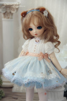 BJD doll zone Dress 1/6 Over 14 years old goods in stock It is scheduled for about 20 days